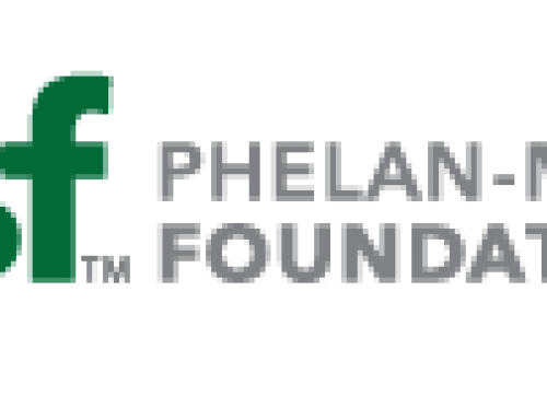 Noack to Attend Phelan-McDermid Syndrome International Family Conference